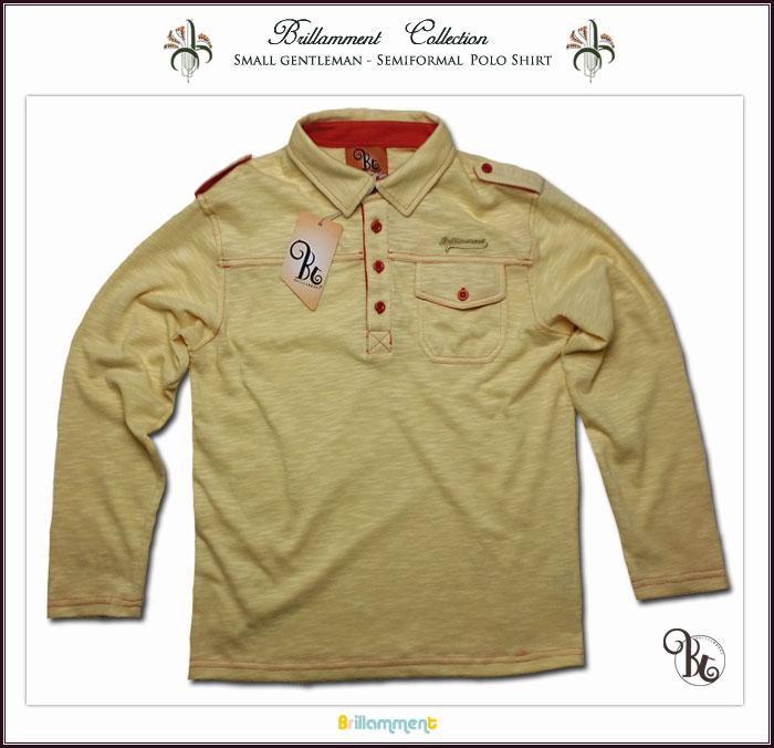 実用性と動きやすさを備えた刺繍入りフォーマルに映える高級感ニット長袖ポロシャツ