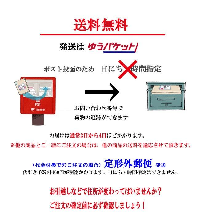 メール便発送 送料無料!
