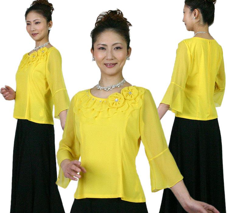 コーラスブラウス(合唱) 黄色