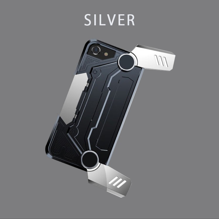 iphoneケース,iphone8/7,ゲーム用,スマホゲーム,コントローラー,スタンド,Baseus