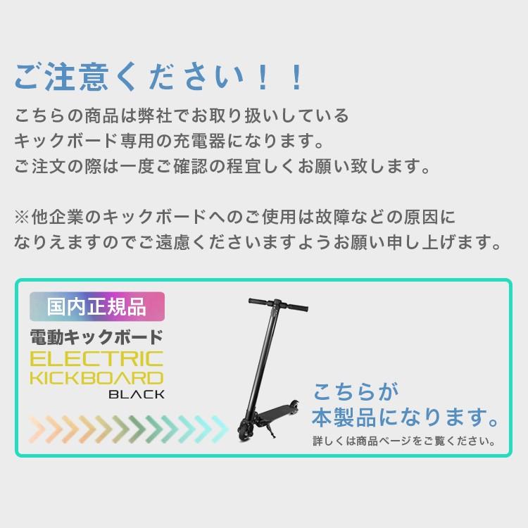 電動キックボード用,リチウムイオンバッテリー充電器【PSE規格品】
