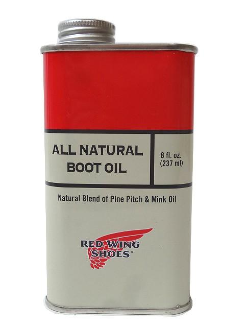 RED WING レッドウィング レッドウイング オールナチュラルブーツオイル 缶 メンテナンス商品