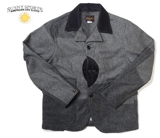 SUNNY SPORTS サニースポーツ HUNTING JACKET ハンティングジャケット  ウールジャケット メンズ