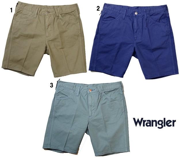 Wrangler ラングラー US オリジナル テーパー ショーツ ショートパンツ  メンズ